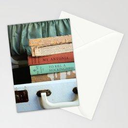 Vintage Suitcase - To Kill a Mockinbird / My Antonia Stationery Cards