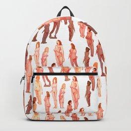 naked girls all over Backpack