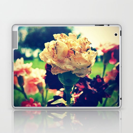 As the flowers wilt Laptop & iPad Skin