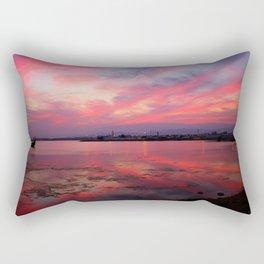 Sunset in Oman Rectangular Pillow