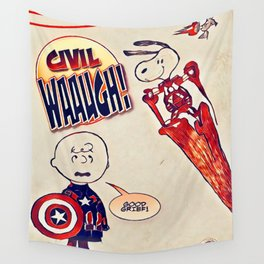 Civil Wauugh! Wall Tapestry