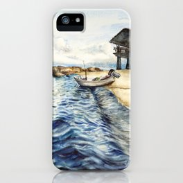 Ocean of Koh Tao island, Thailand iPhone Case