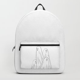 Boo! (Orange and White Edition) Backpack