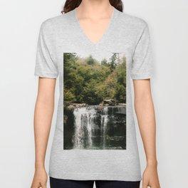 Blackwater Falls Unisex V-Neck