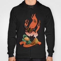 Fire Burns Hoody