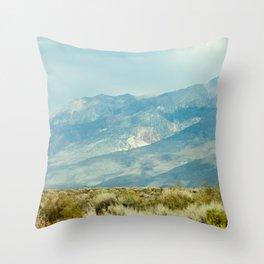 Mountains Above the Brushline (Sierra Nevadas, California) Throw Pillow