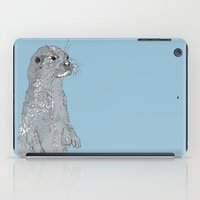 otter iPad Cases featuring Otter by caseysplace