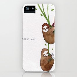 Fall for me iPhone Case