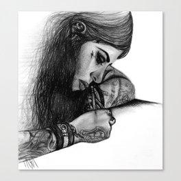 "Kat Von D - ""Make Your Mark"" Canvas Print"