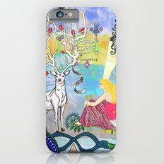 The Lovers and the blue deer  Slim Case iPhone 6s