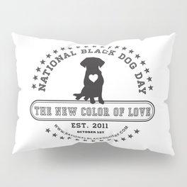 Black Dog Day Official Logo Pillow Sham