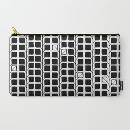 Into the Woods Leaves black Carry-All Pouch