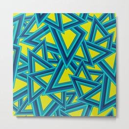 Geometric - Summer Fling Metal Print