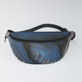 Particular Blue Dune on Mars Fanny Pack