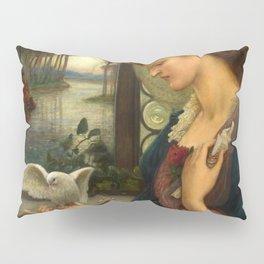 """Marie Spartali Stillman """"Love's Messenger"""" Pillow Sham"""