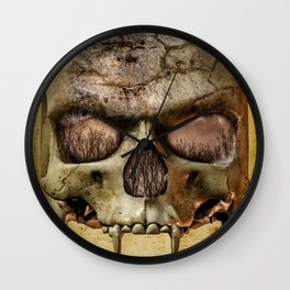 In The Eyes Of The Vampire Wall Clock