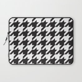Houndstooth (Black and White) Laptop Sleeve