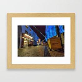 Chippy Alley  Framed Art Print