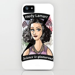 Hedy Lamarr iPhone Case