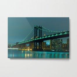 Green bridge Metal Print