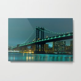 Green bridge Metal Print