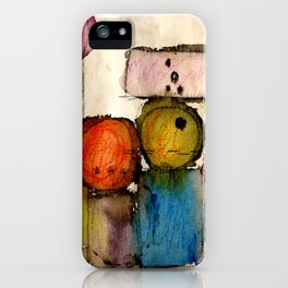 Megalithic Grave iPhone Case