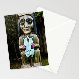 Fog Woman Stationery Cards