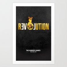 Hunger Games - Revolution Art Print