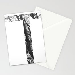 Minimal Letter T Print With Photography Background Stationery Cards