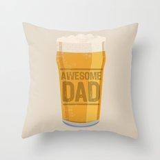 DAD Throw Pillow