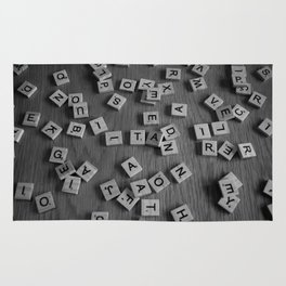 Letters Rug