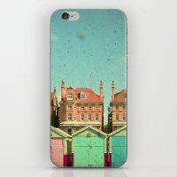 cassia beck iPhone & iPod Skins featuring Promenade by Cassia Beck