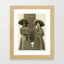 Dos Charras Framed Art Print