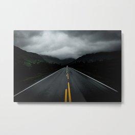 Open Road Landscape Metal Print