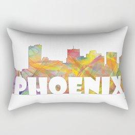 Phoenix, Arizona Skyline MCLR 2 Rectangular Pillow