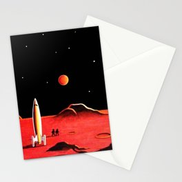 CITY ON MARS Stationery Cards