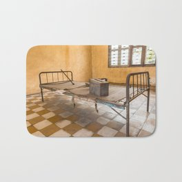 S21 Building B Cell II - Khmer Rouge, Cambodia Bath Mat