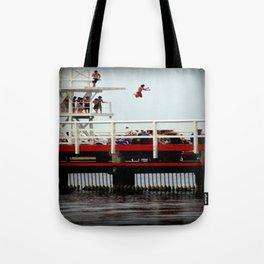Takin A Dive Tote Bag