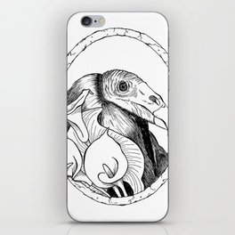 Mr. Vulture iPhone Skin