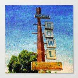 Century Bowl - Merced, CA Canvas Print