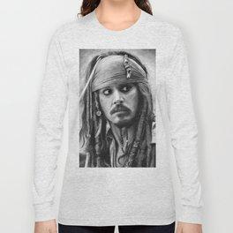 Jack Sparrow Long Sleeve T-shirt