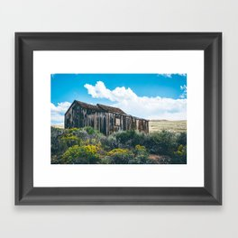 Colorful Day in Bodie Framed Art Print