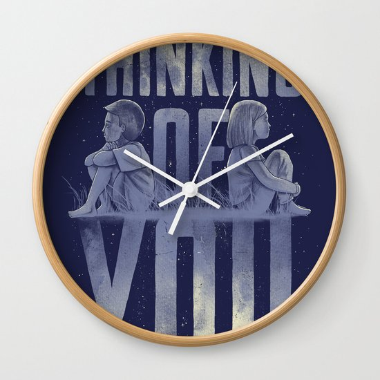 'Thinking of You' Wall Clock