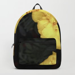 The Soft Yellow Flower (Vintage) Backpack