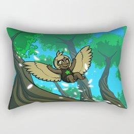 Harp's Afternoon Flight Rectangular Pillow