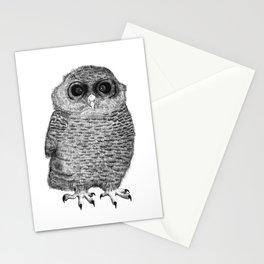 Owl Nr.3 Stationery Cards