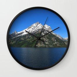 Jenny Lake - Grand Teton NP Wall Clock