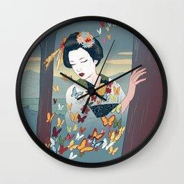 Geisha Wall Clock