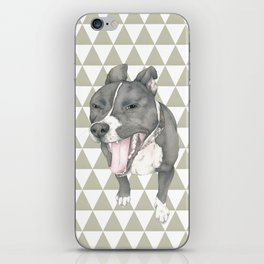 The little dog laughed. iPhone Skin