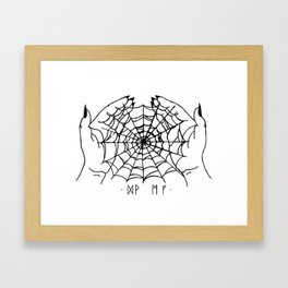 Arachne Framed Art Print